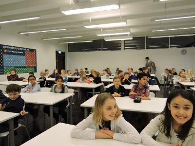 Elevene er klar for prøven!